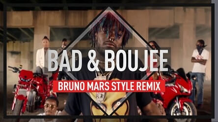 Bad and Boujee (Bruno Mars type beat remix)