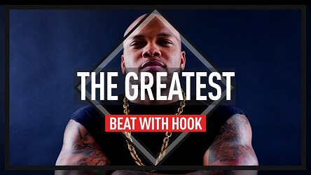Flo Rida type dance beat with hook