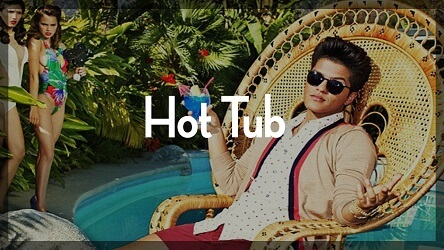 bruno mars type beat - hot tub