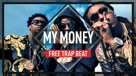 free migos type beat 2017 - my money - free trap beat