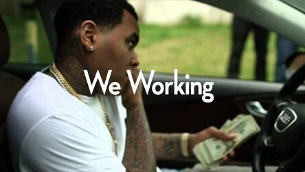 kevin gates type beat with hook - we working - instrumental with hook
